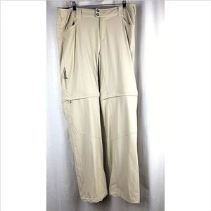 Columbia womens stretch convertable pants/shorts